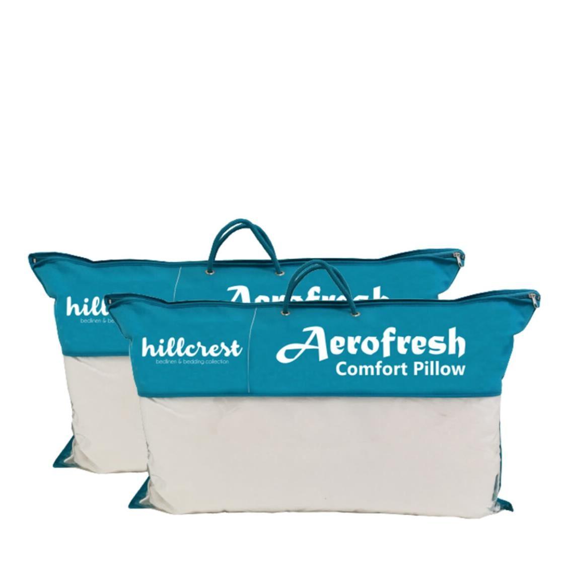 Hillcrest ComfyLux Aerofresh Pillow Bundle of 2