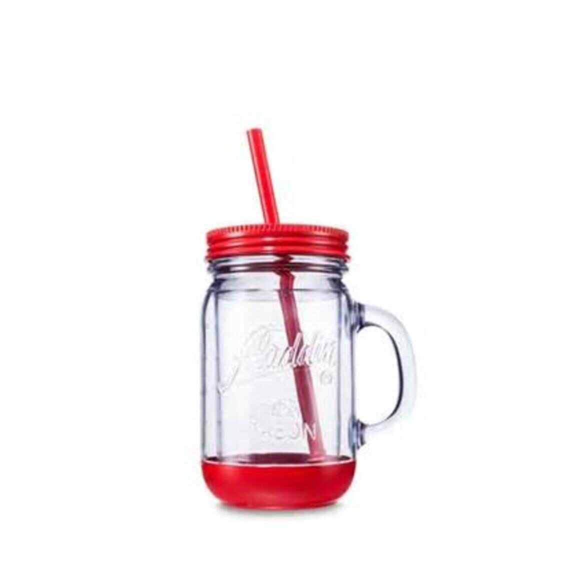 Perfect Tumber With Lid Red 12Oz 1538-MT