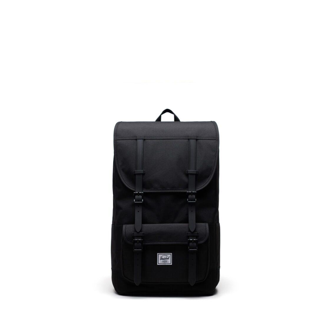 Herschel Little America Pro Black Backpack 11038-00001-OS