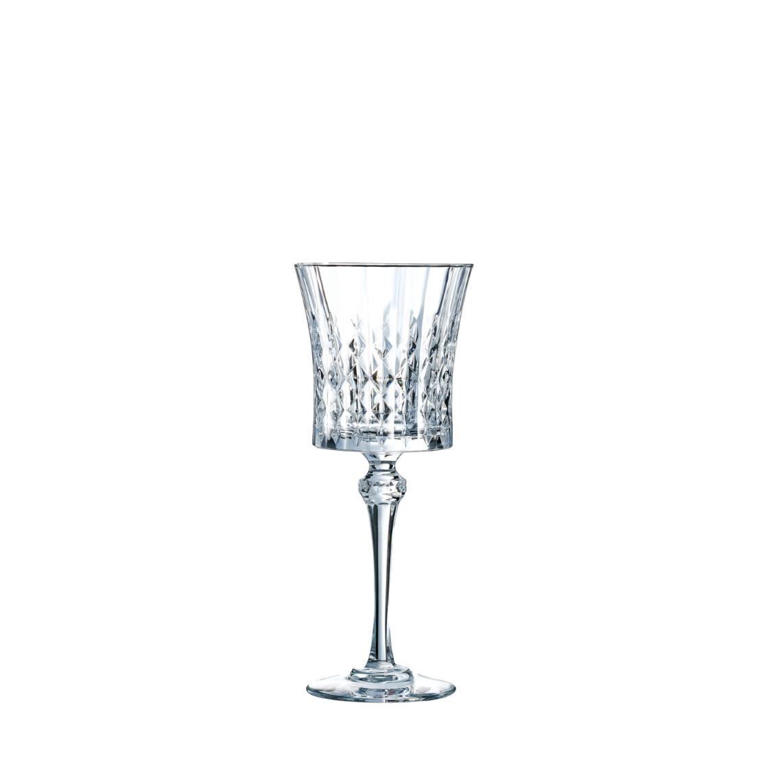 Cristal D Arques Lady Diamond 6pc 27cl Stemglass Set L9743