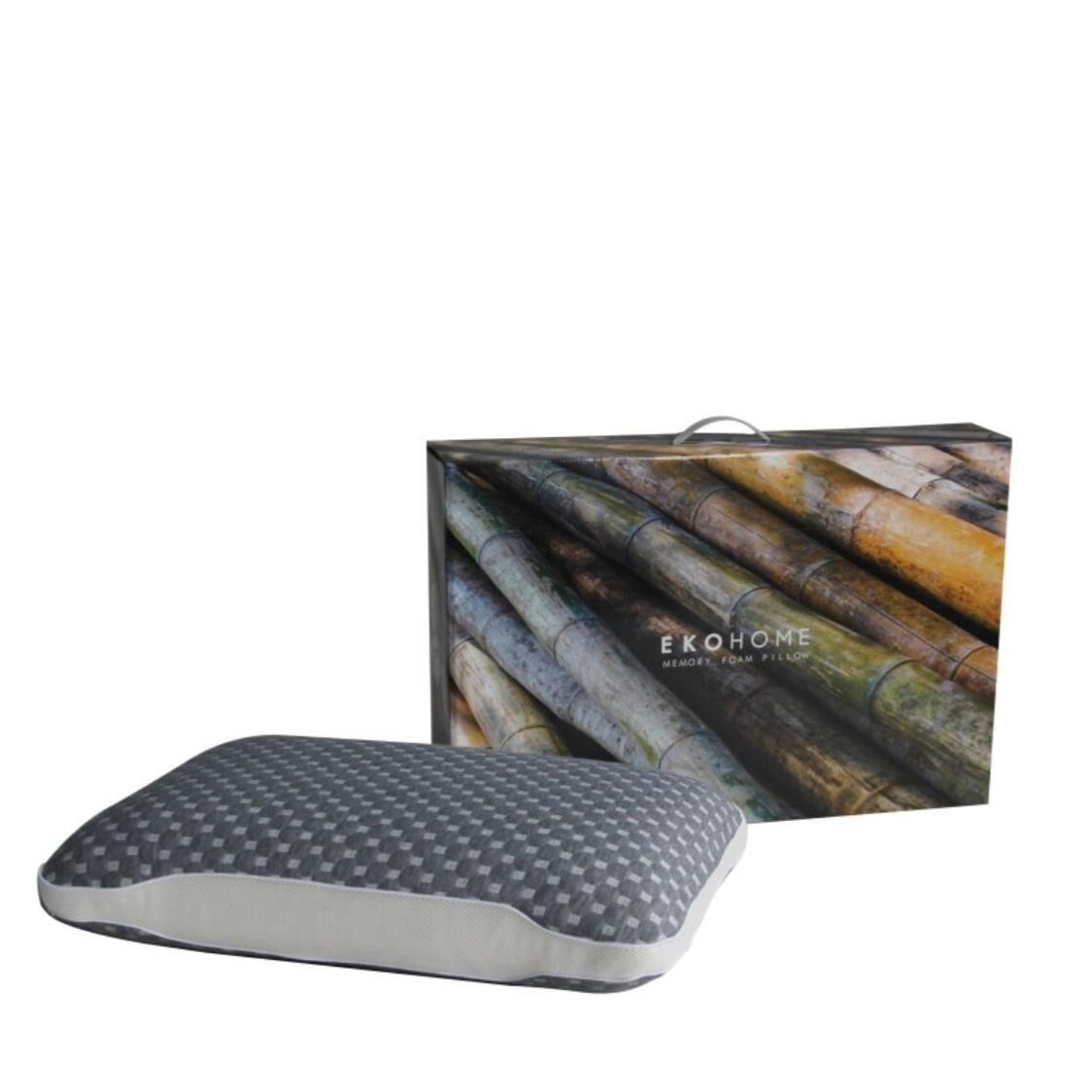 Ekohome Bamboo Charcoal Memory Foam Pillow