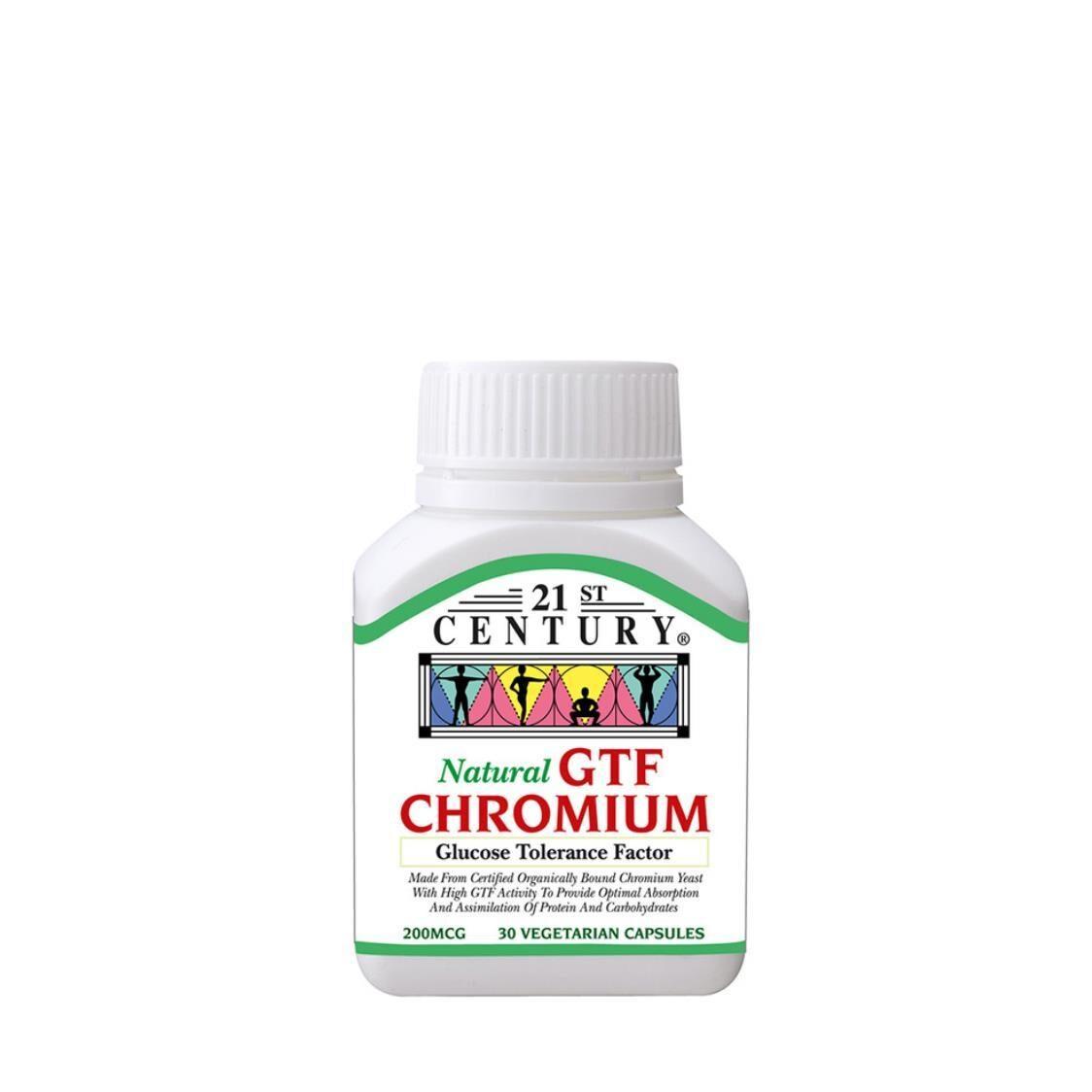 Chromium GTF 200mcg 30s