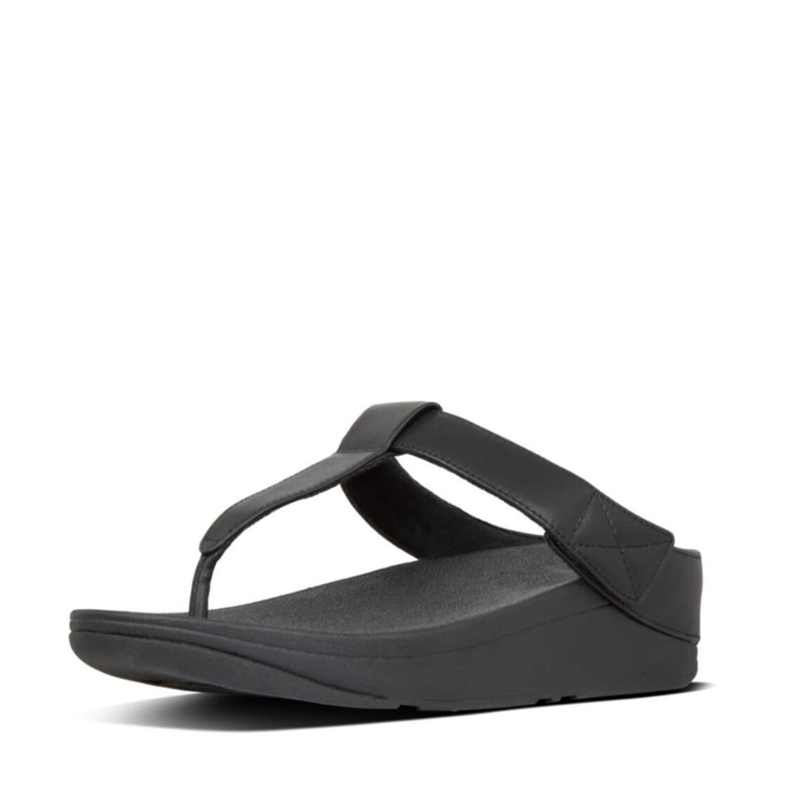 Fitflop Mina Toe Thongs Black