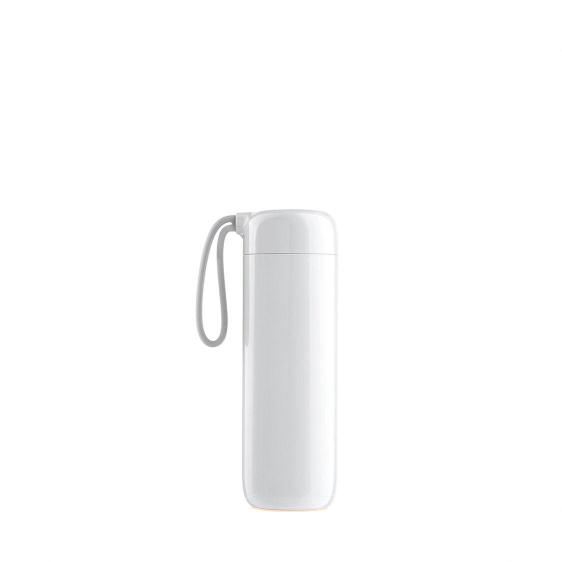 Artiart Water Logo Thermal Bottle Cloud White 400ml