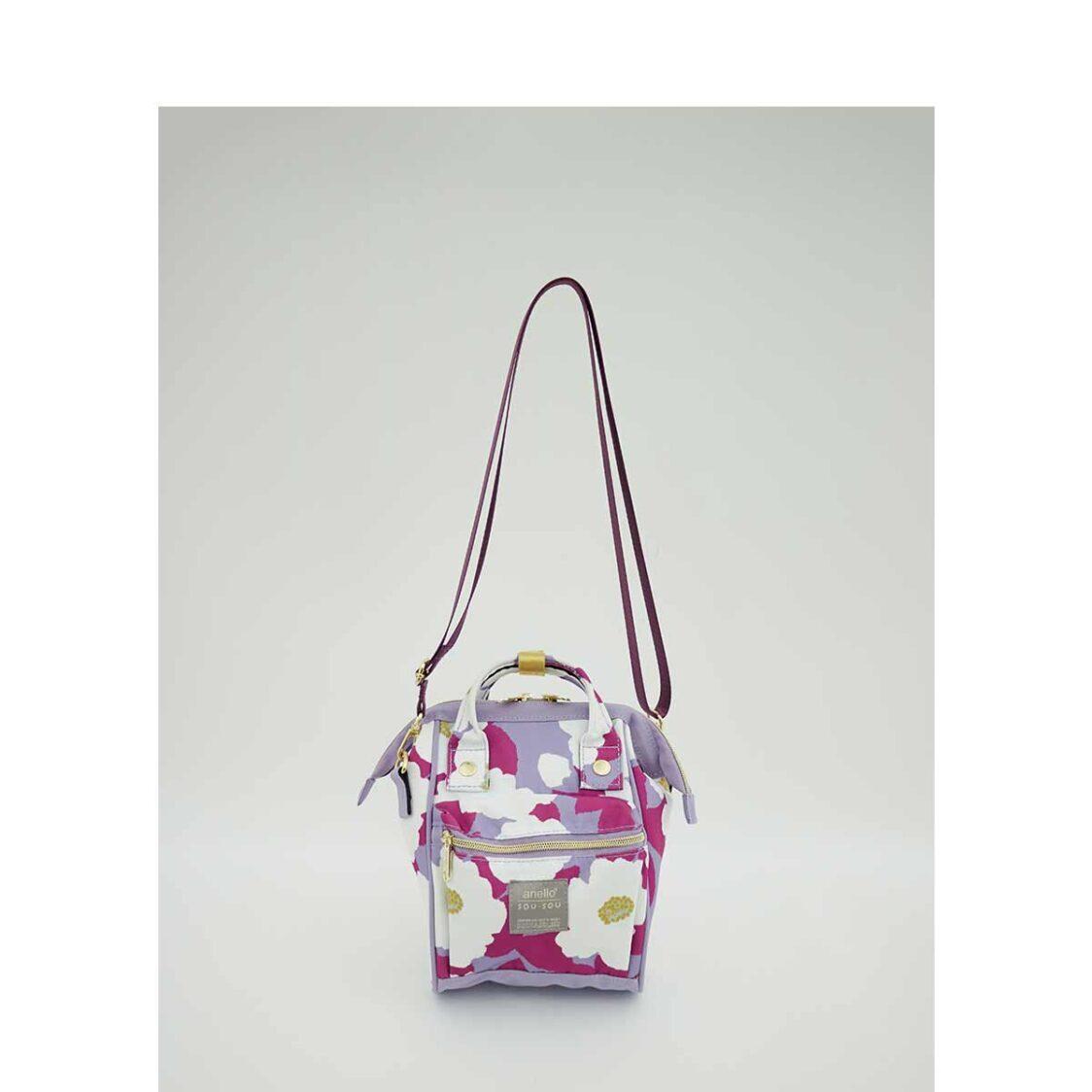 Anello X SousouT 2Way Micro Shoulder Bag Lavender