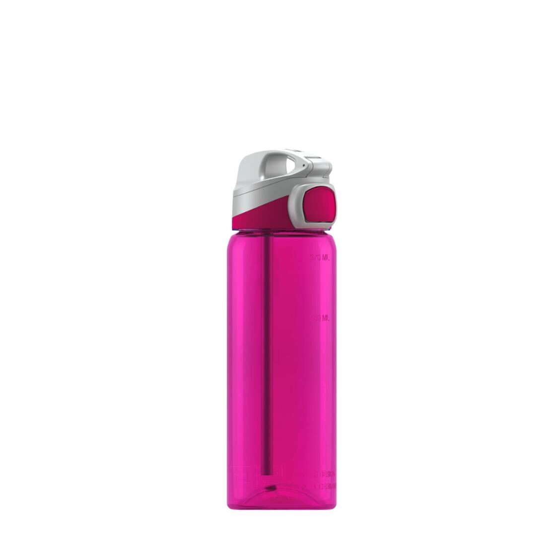 Sigg 600ml Miracle Ttitan Water Bottle - Berry - Made In Germany 863190