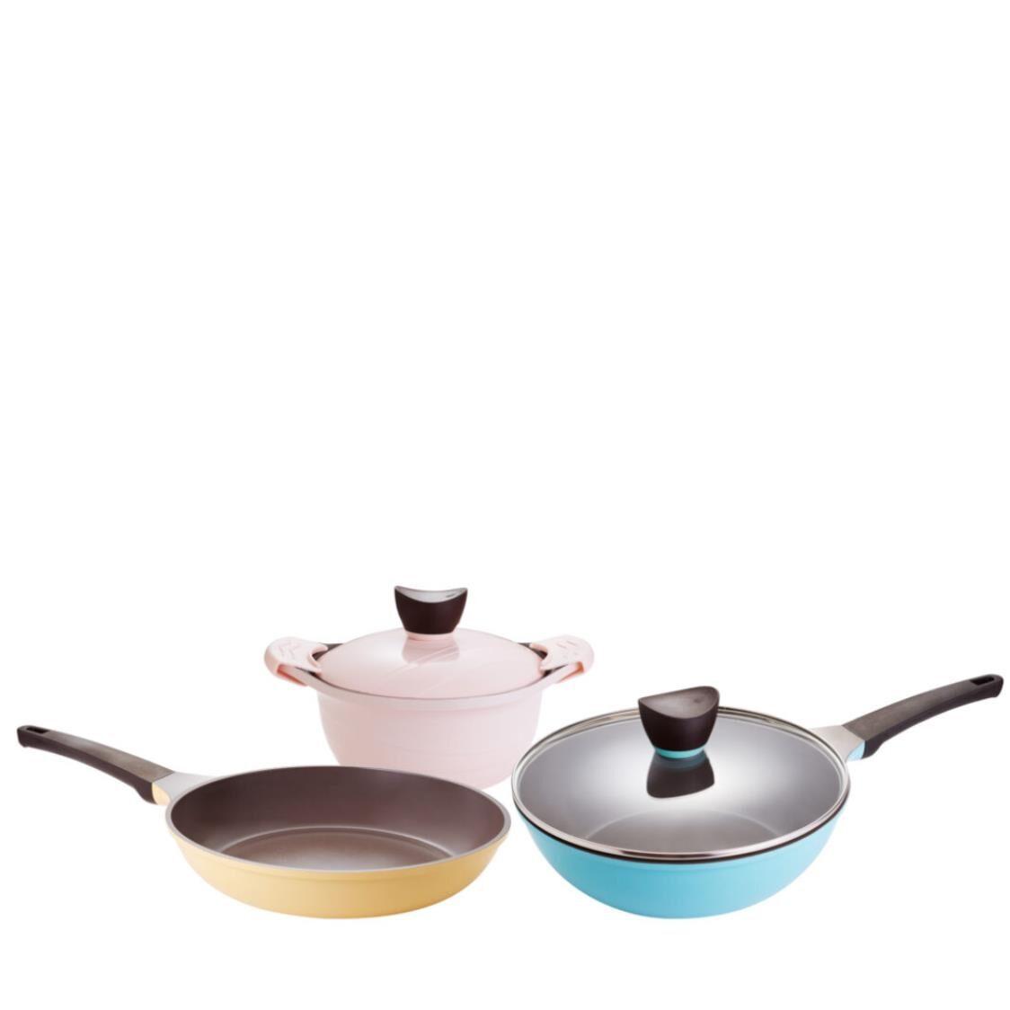 Corningware Trio 3pc Metal Cookware Set CWT-3P2G