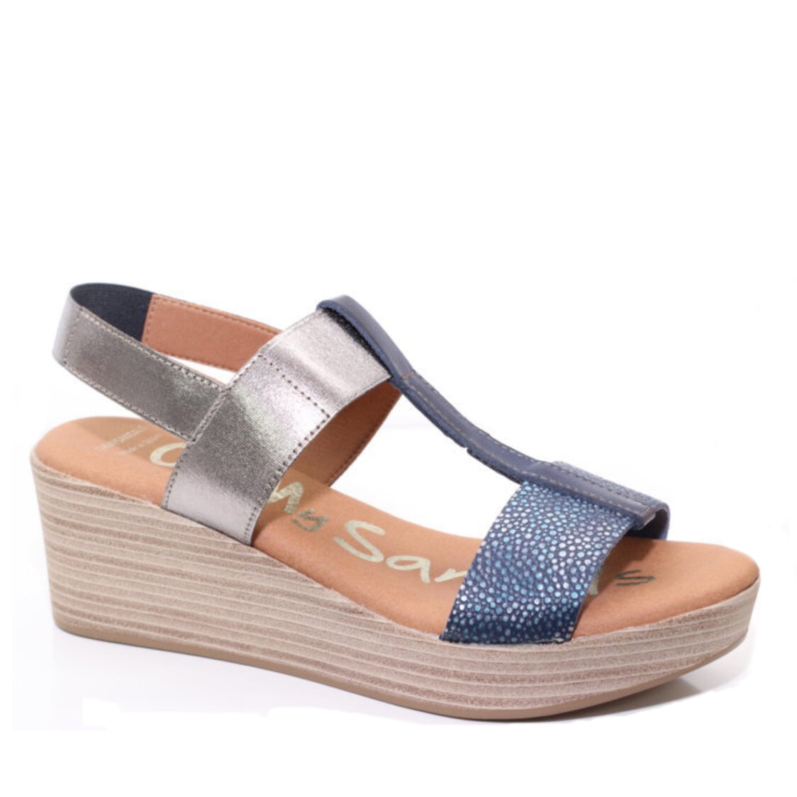 OH MY SANDALS Wedge 2 Navy
