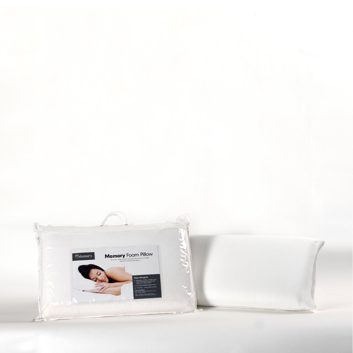 Memory Foam Gusset Pillow