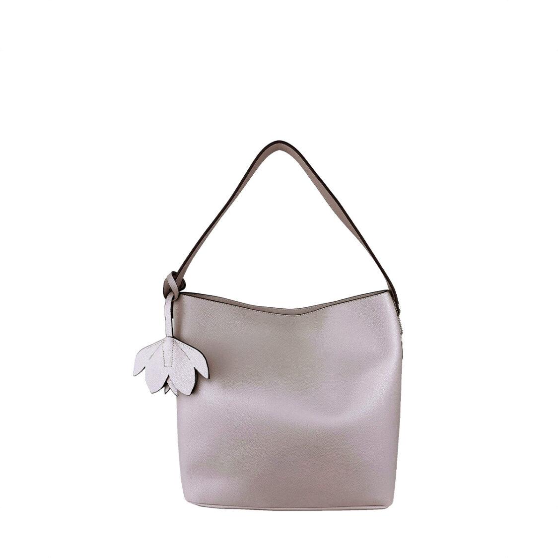 Perllini  Mel Single Handle Shoulder Bag Cream PY9923-Crea