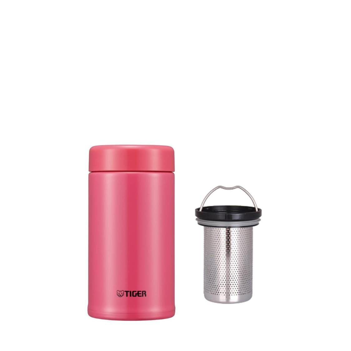 Tiger 360ml Stainless Steel Mug with Tea Strainer -  PINK MCA-T360 PI
