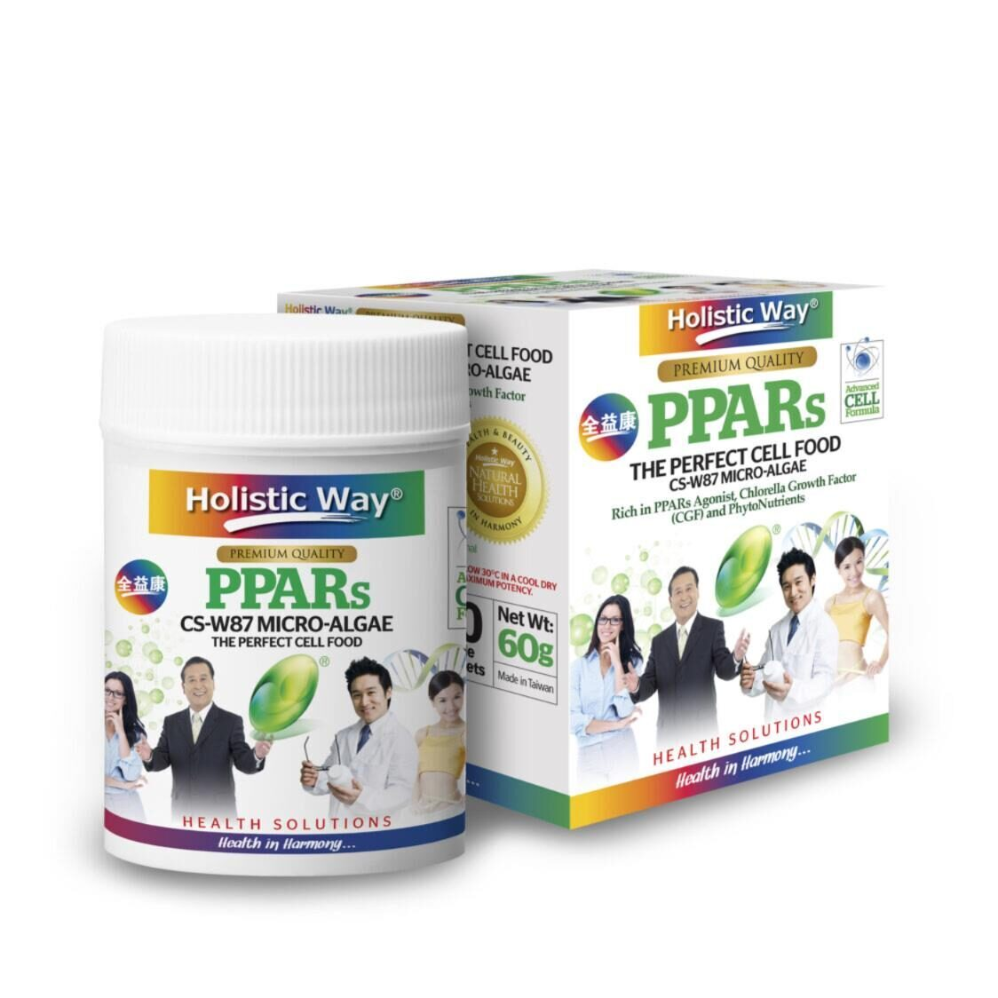 Holistic Way PPARs 300 Chewable Micro-Tablets