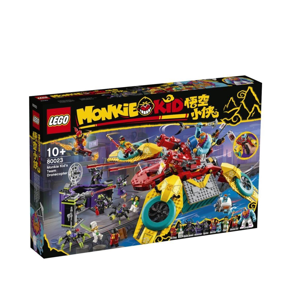 LEGO Monkie Kid - Monkie Kids Team Dronecopter 80023