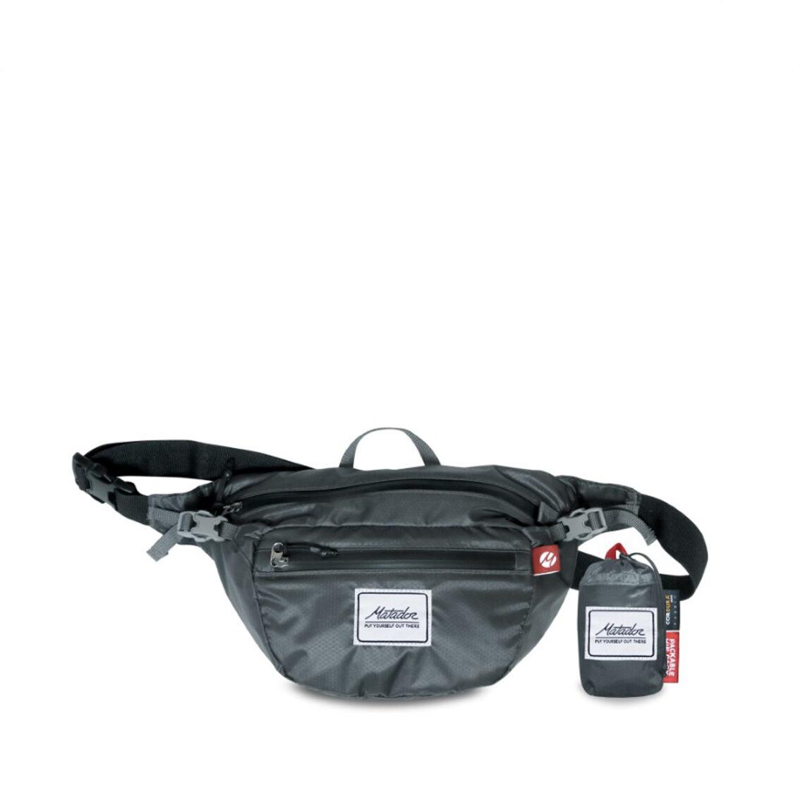 Matador On-Grid Hip Pack Charcoal MA-MATOGHP01BK