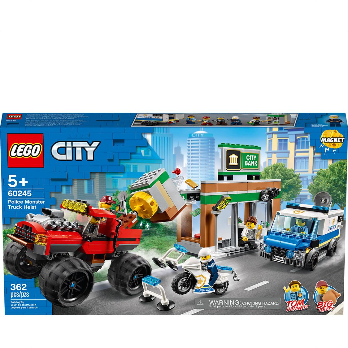 LEGO CITY - Police Monster Truck Heist 60245