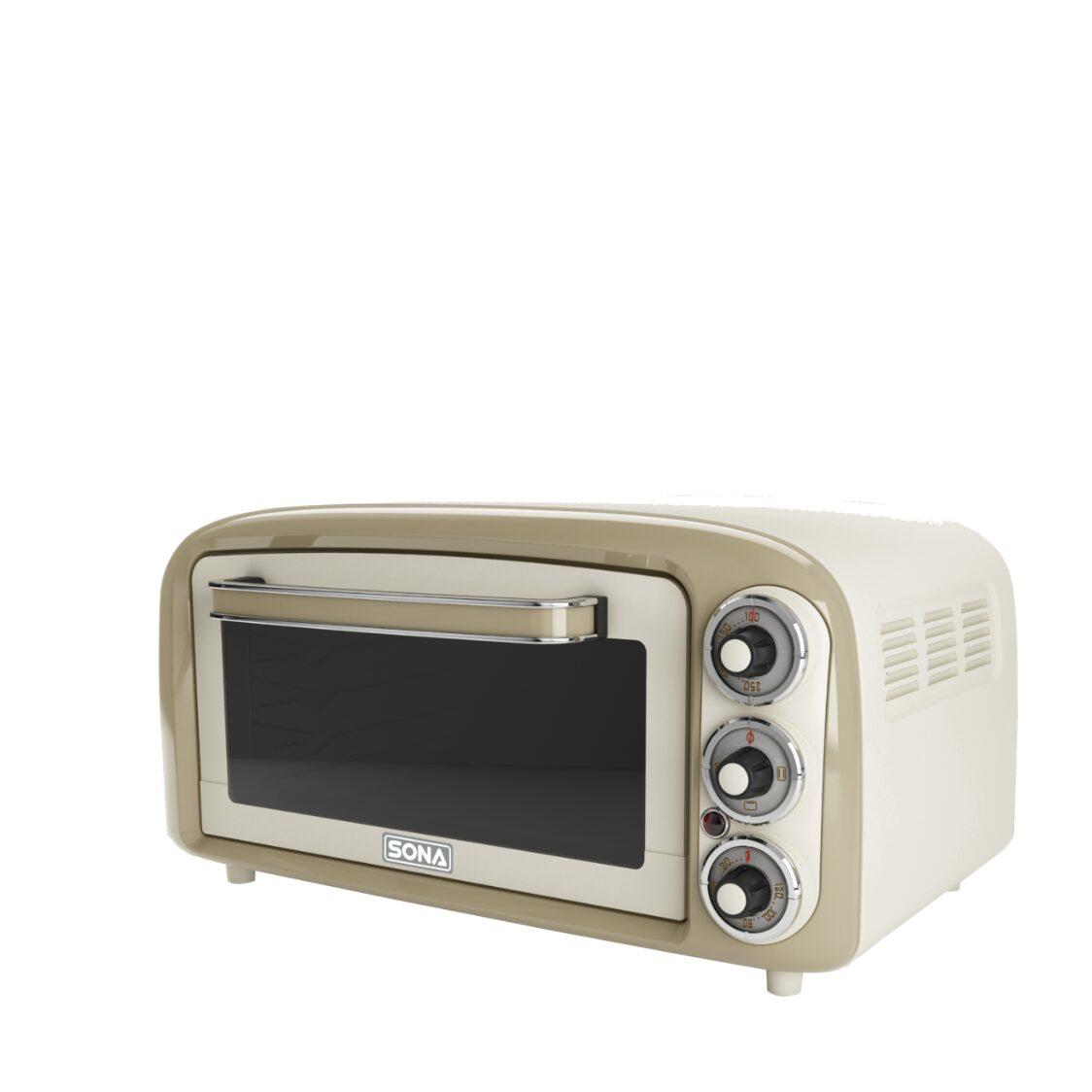 Sona 18L Pizza Retro Oven SEO 2240