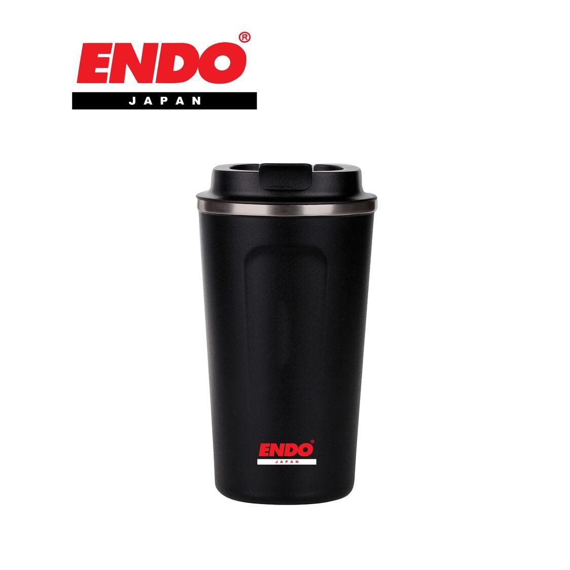 Endo Double Stainless Steel Coffee Mug 500ml CX-3010