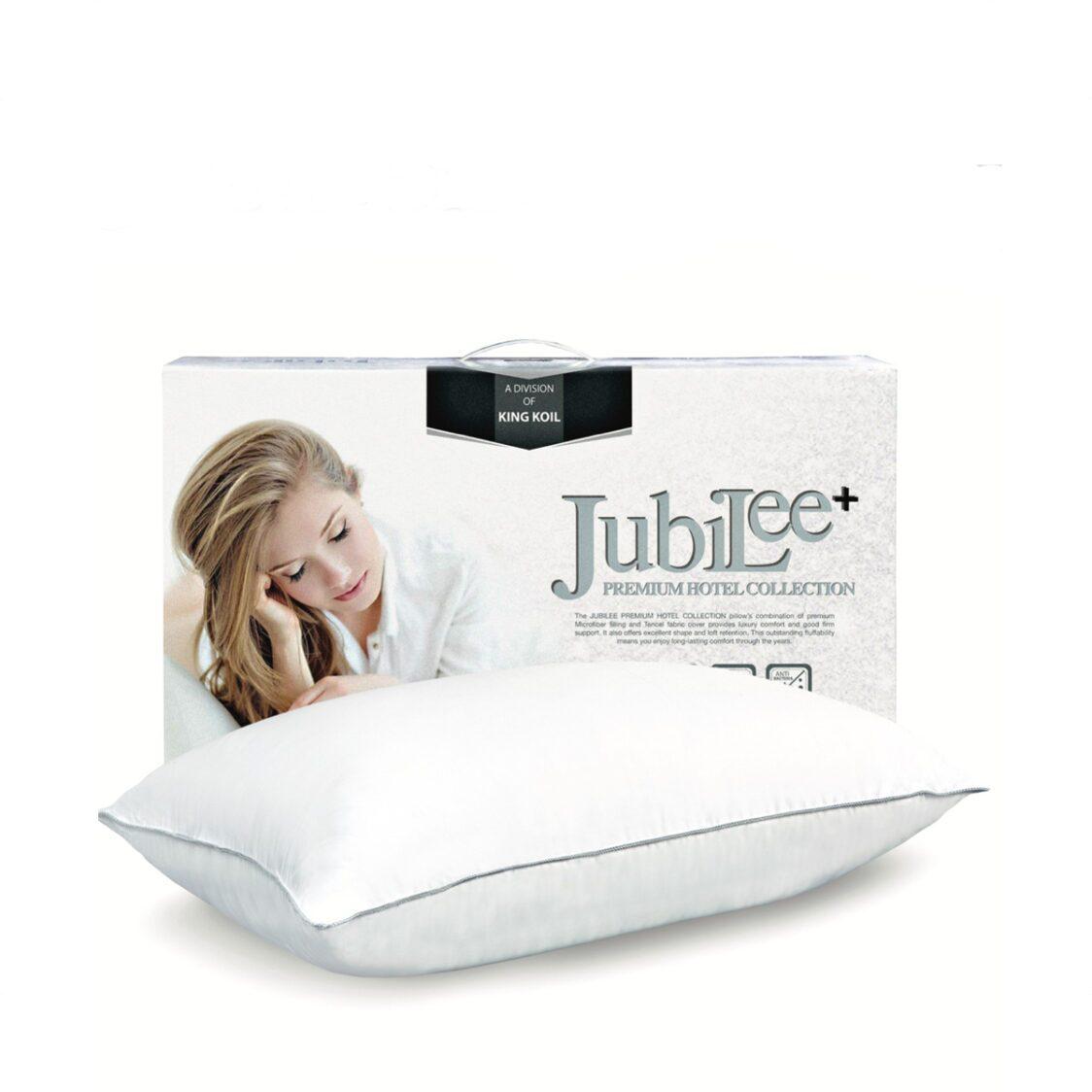 King Koil Jubilee  Collection 100 Microfiber  Eucalpytus Fabrics Pillow