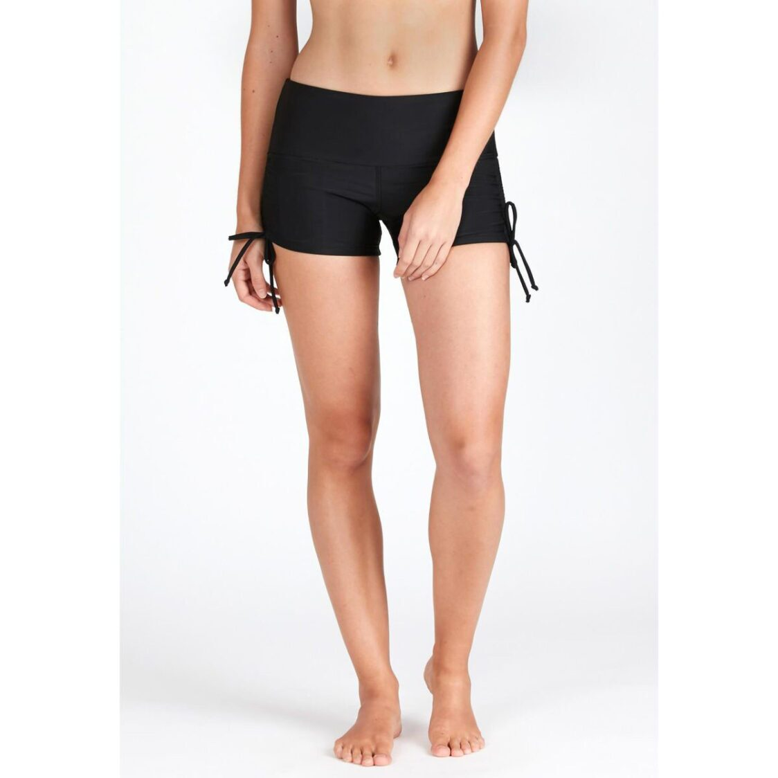 Funfit Wide Waistband Shorts II with KeeperBand in Black