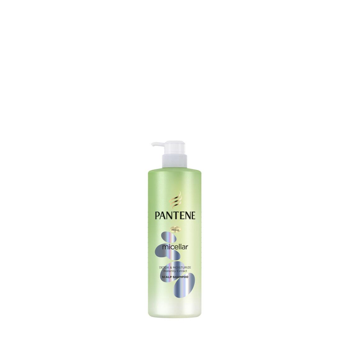 Pantene Shampoo Micellar Detox  Moisturize 530ml