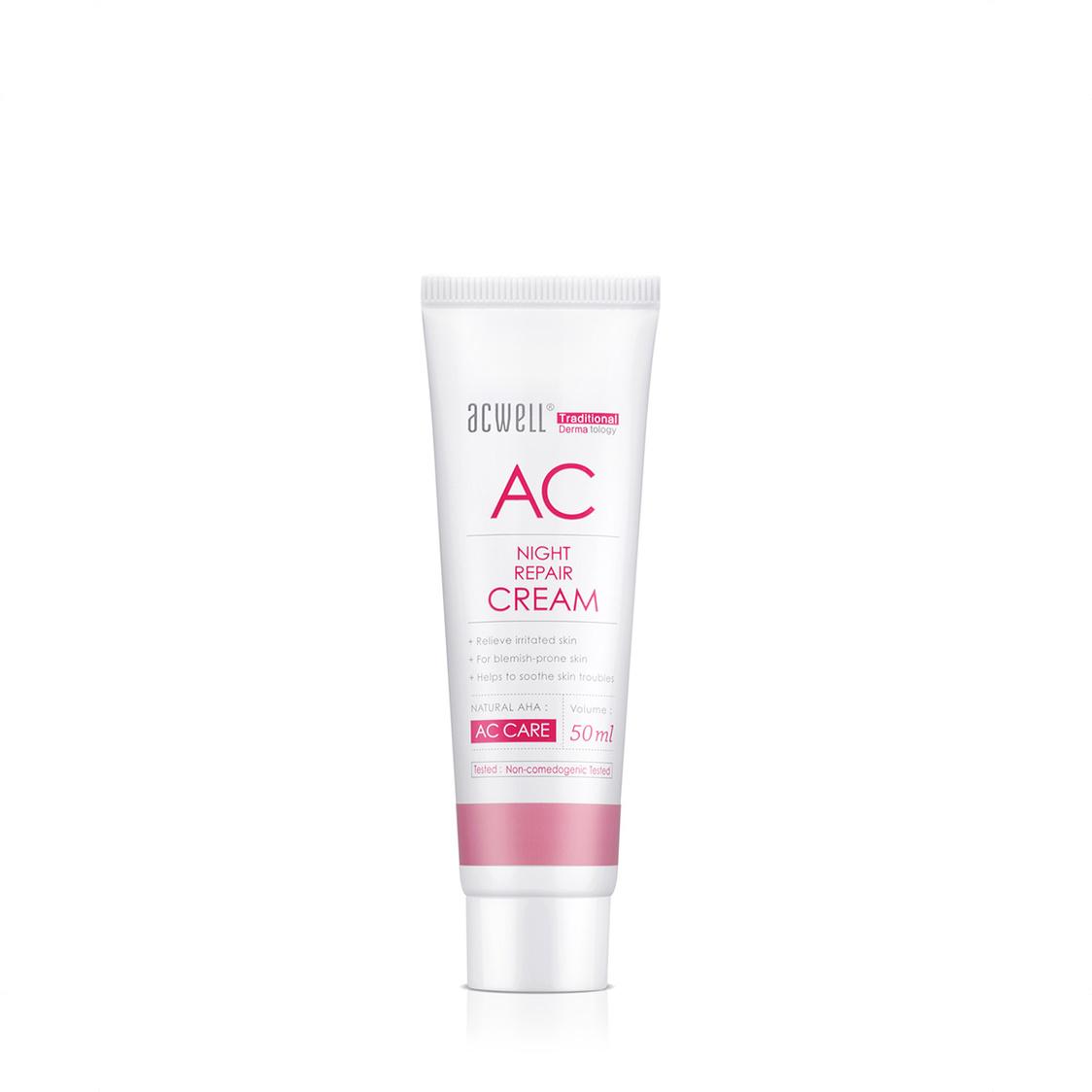 Acwell AC Night Repair Cream 50ml