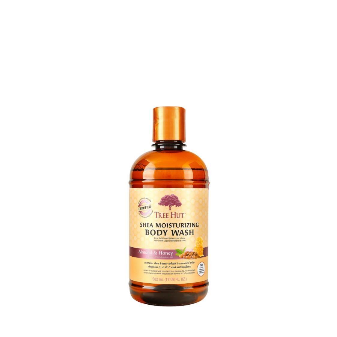 Shea Moisturizing Body Wash Almond  Honey 17oz 482g