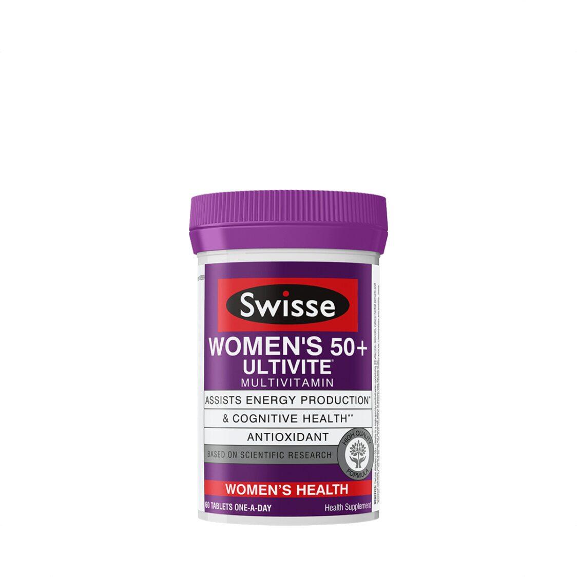 Swisse Womens 50 Ultivite Multivitamin 60s