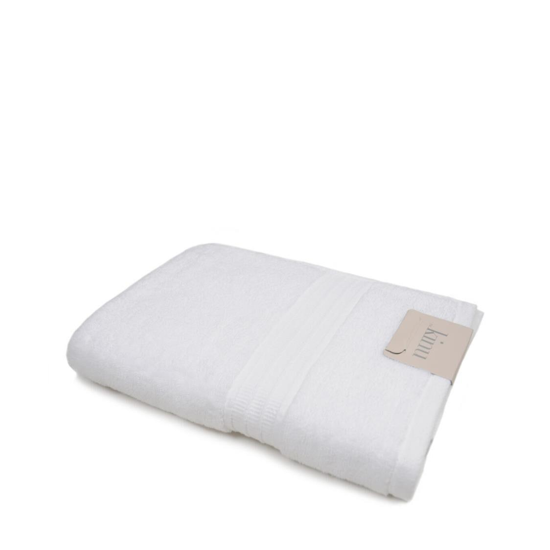 Kinu Down Bath Towel White