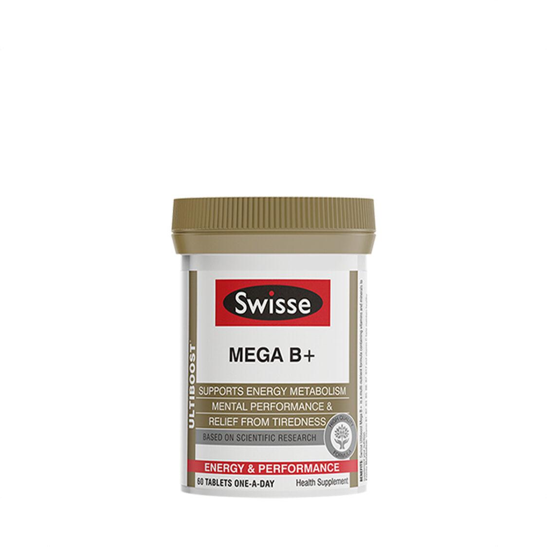 Swisse Ultiboost Mega B 60s