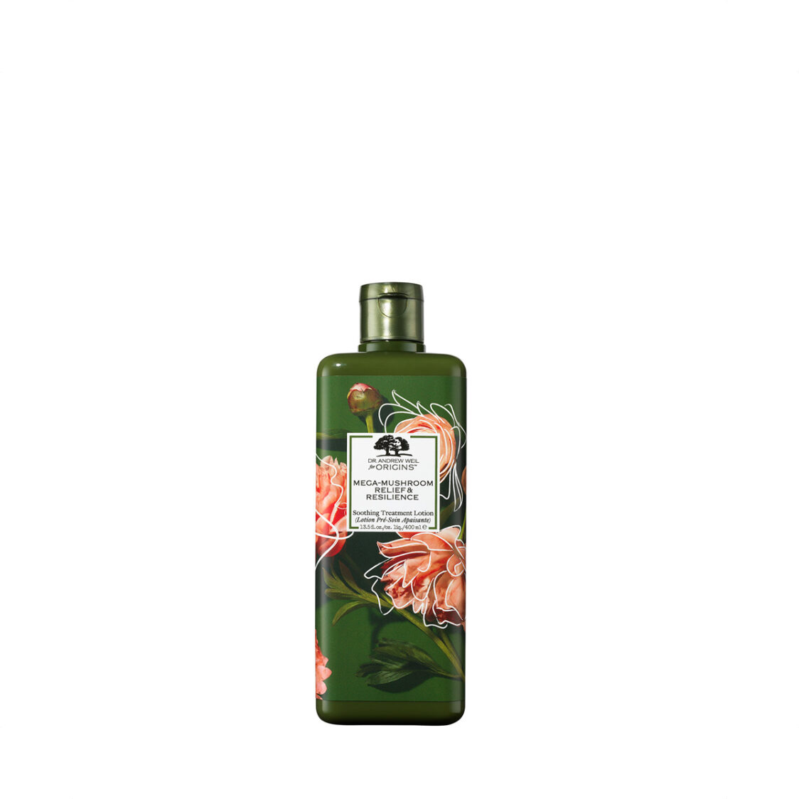 Dr Andrew Weil For Origins Mega-Mushroom Relief  Resilience Soothing Treatment Lotion Earth Month Limited Edition 400ml