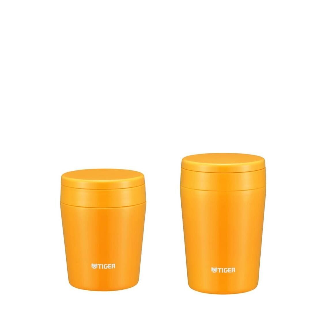 Tiger 300ml380ml Double Stainless Steel Soup Cup Set - Yellow