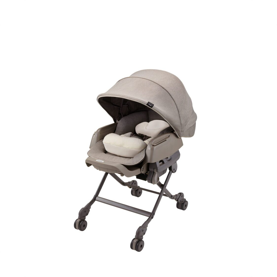 Combi BEDi Manual Swing Sand Beige Parenting Station New born4 Years Old 101KG