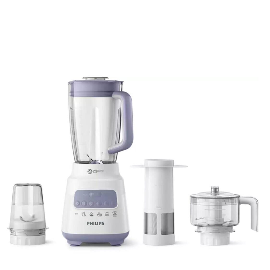 Philips 5000 Series 3-In-1 Blender Plastic Jar With Mill Chopper Filter HR222301
