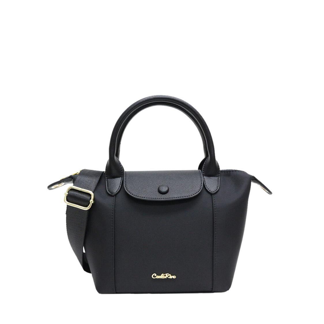 Carlo Rino Shoulder Bag Black 34898-001-08