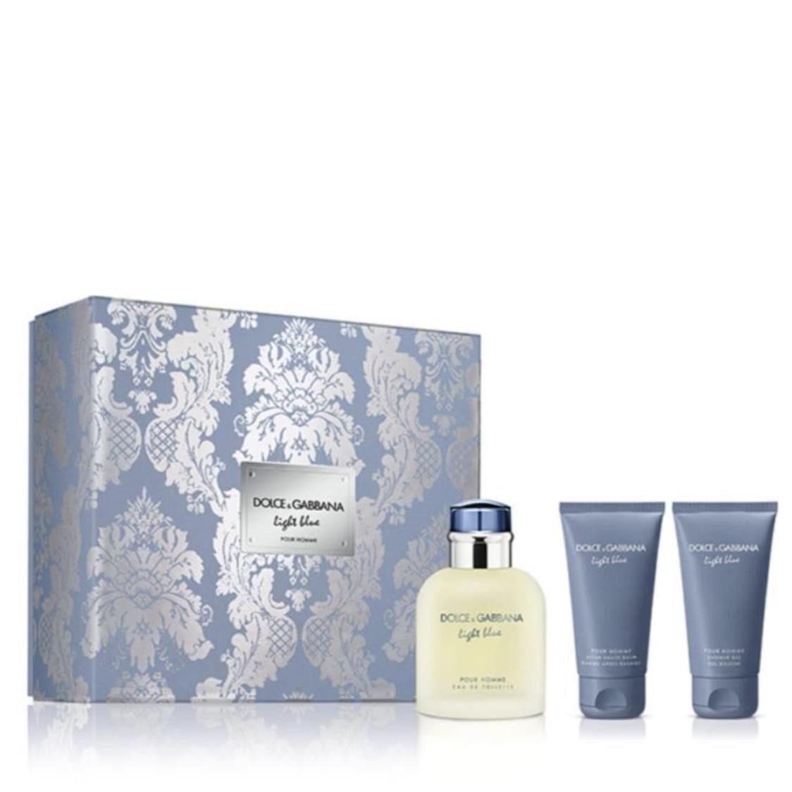 Dolce  Gabbana Light Blue Pour Homme EDT 125ml Gift Set