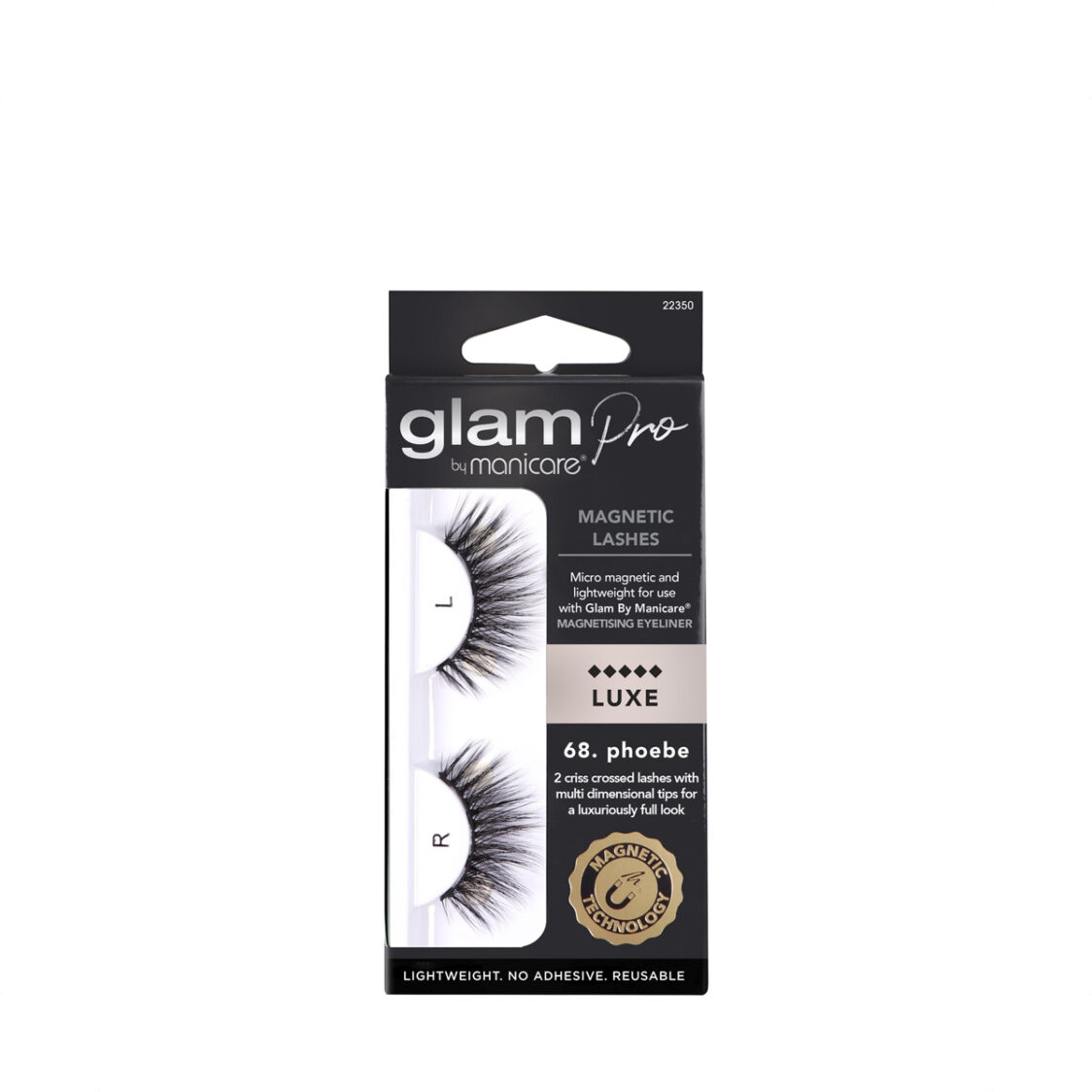 Manicare Glam Pro 68 Phoebe Magnetic Lashes Luxe
