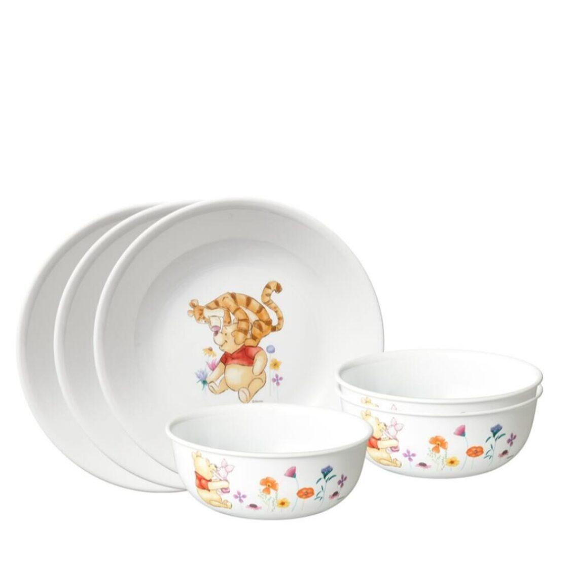 Corelle 6pc Dinner Set A - Winnie The Pooh