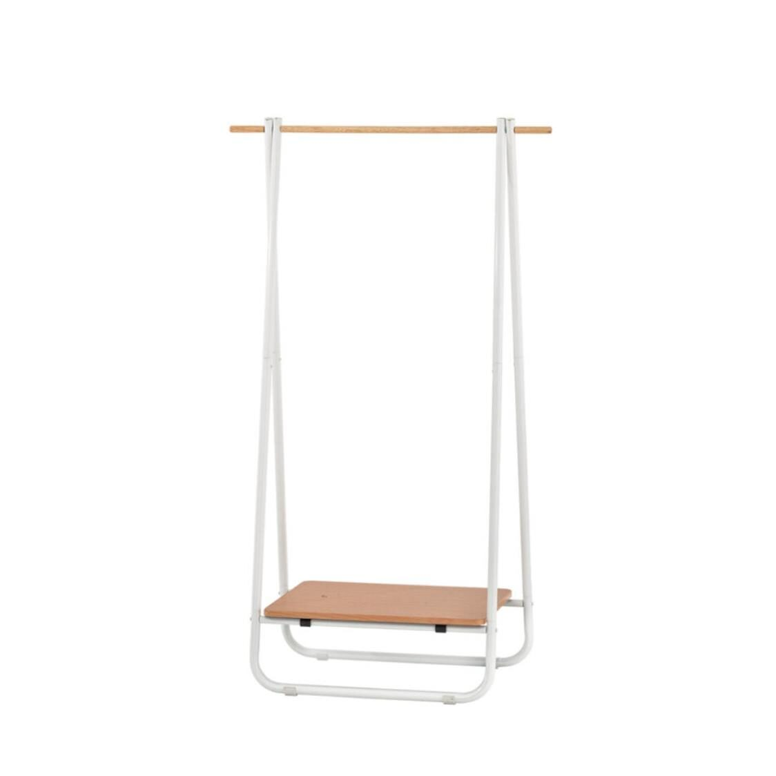 Rene Clothes Storage Rack Swing Color - White