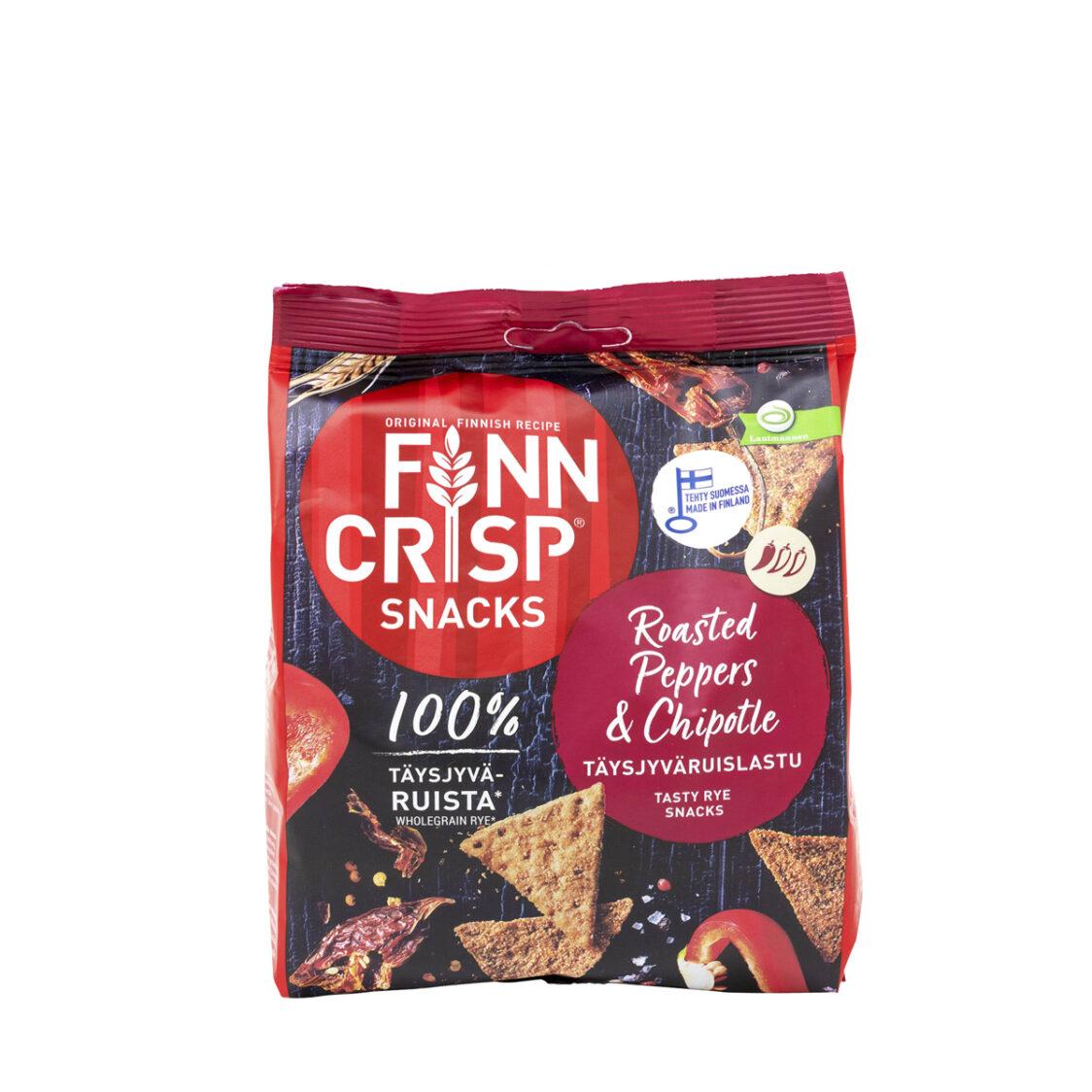 Finn Crisp Roasted Pepper  Chipotle - Snack 150g