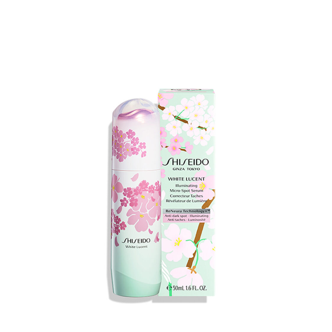Shiseido White Lucent Illuminating Micro-Spot Serum 50ml Sakura Limited Edition