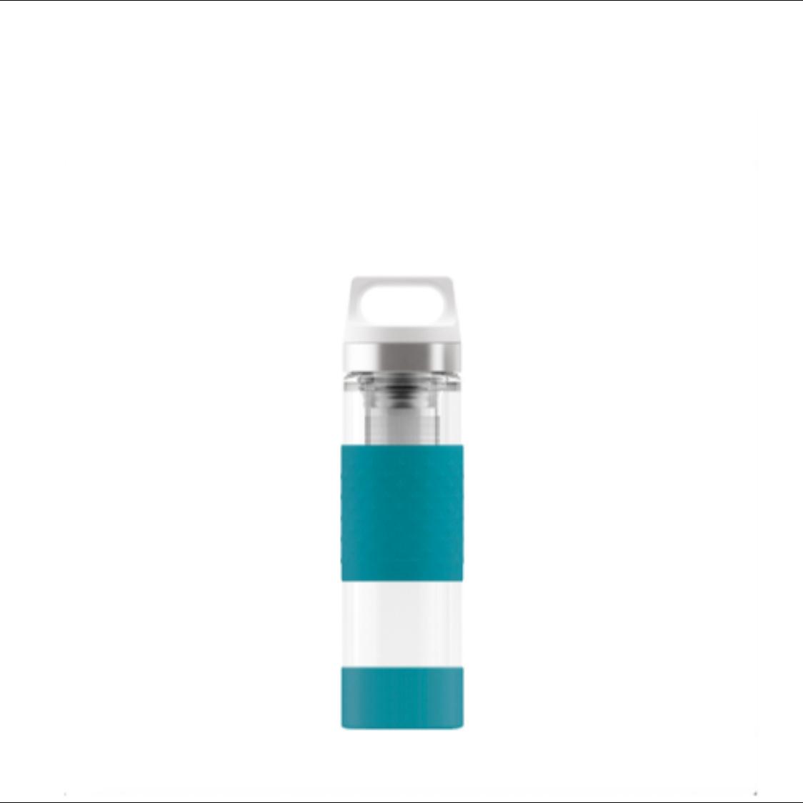 Sigg Hot  Cold Glass Aqua 400ml Glass Bottle