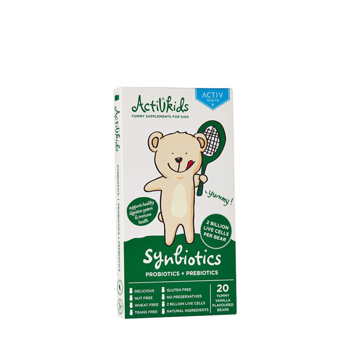 Activkids Synbiotic Vanilla A711405 20 bears