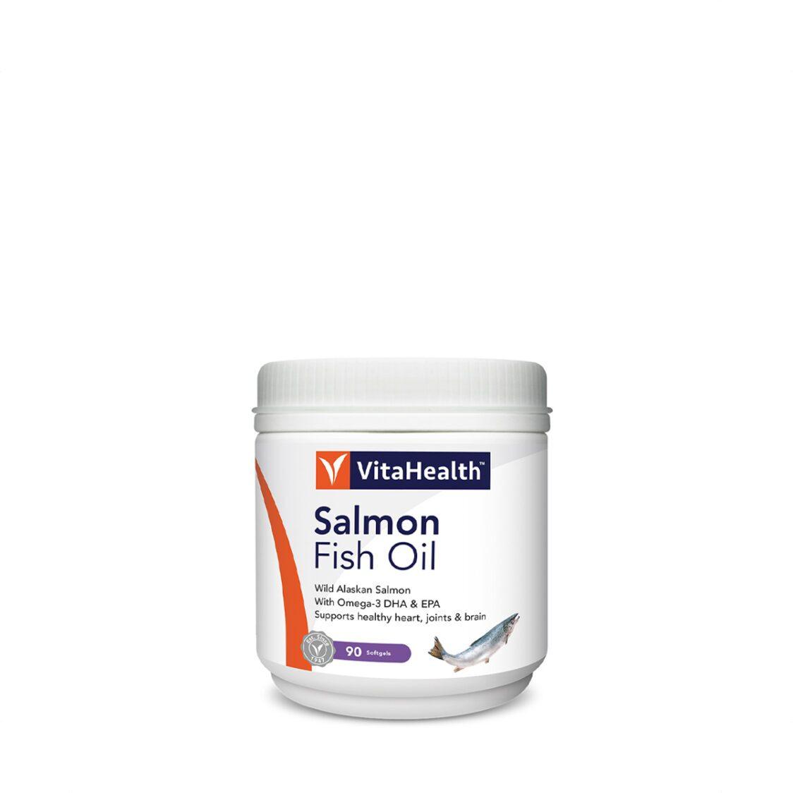 VitaHealth Salmon Fish Oil 90 Softgels