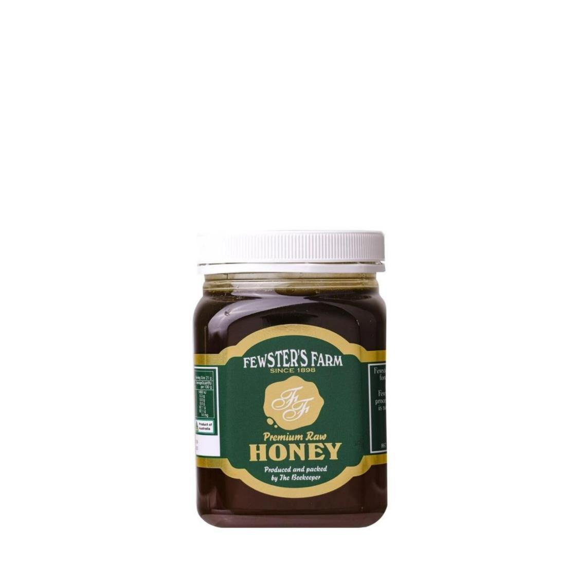 Fewsters Farm Premium Raw Honey 500g