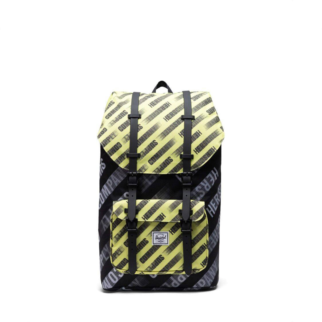 Herschel Little America Motion BlackHighlight Backpack 10014-04485-OS