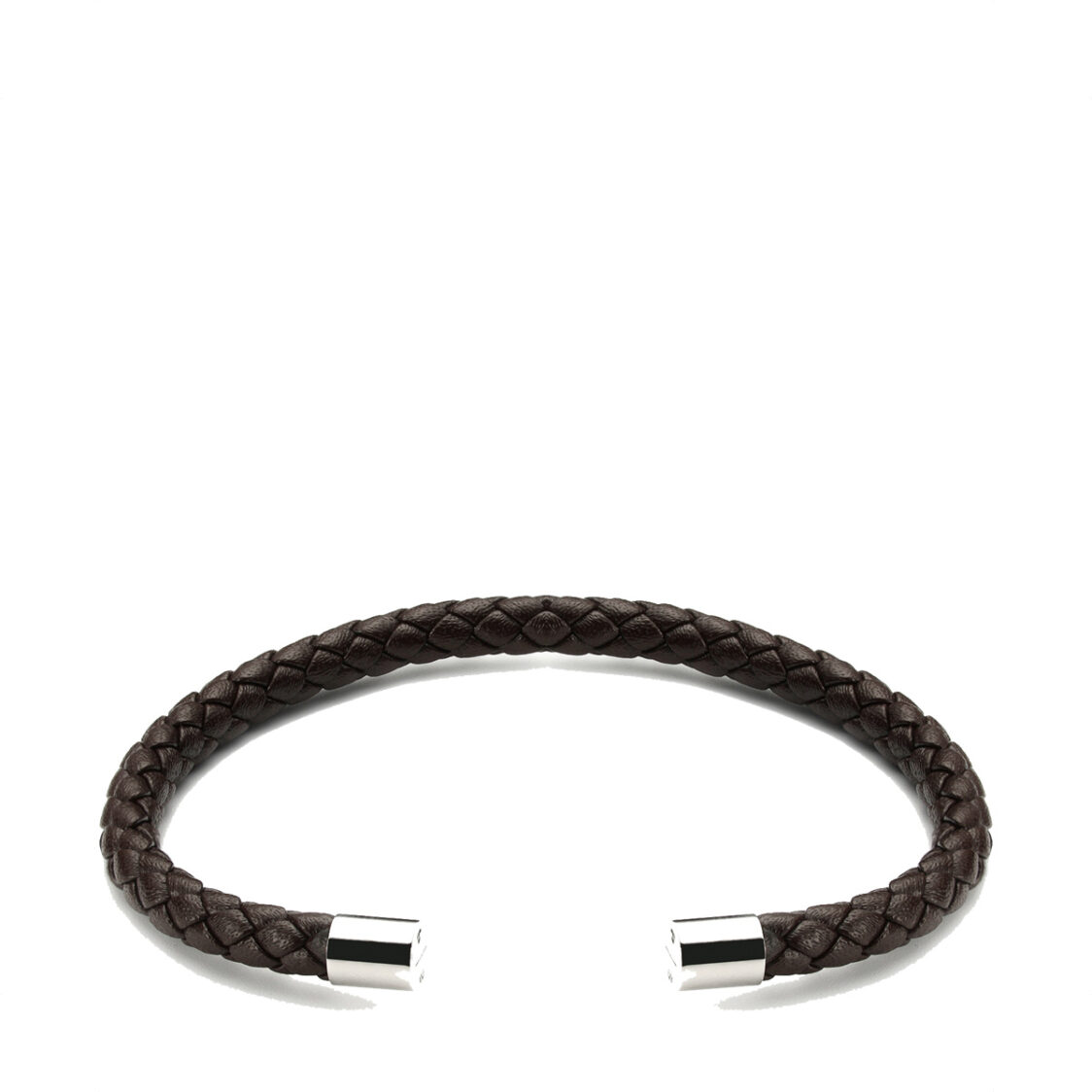 Plain Supplies Wve Cuff - Brown Leather