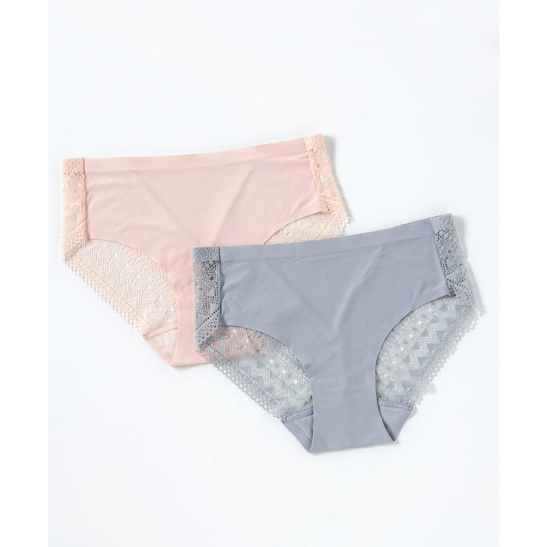 Young Hearts Lace Secret Seamfree Midi Panties Y27-000624