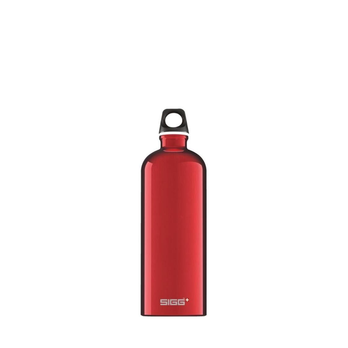 Sigg Traveller 1L Water Bottle Red 832640 UP 4390
