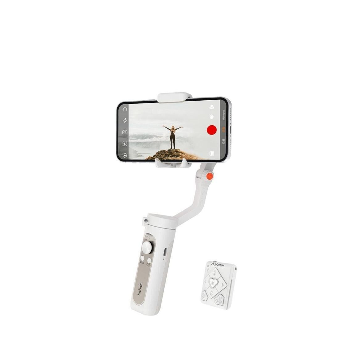 Hohem iSteady X2 3-Axis Smartphone Gimbal Stabilizer - White
