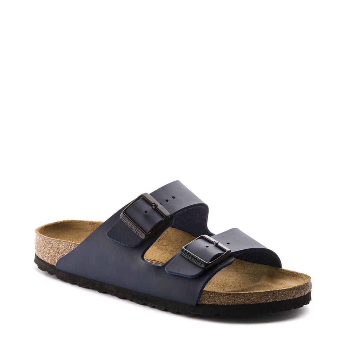 Birkenstock Arizona Birko-Flor Unisex Regular Width Sandals Blue